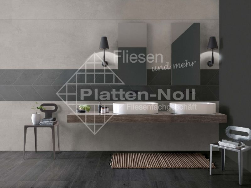 ... Moderne Fliesen Für Badezimmer (168 CRW Coal CRC Grey) ...