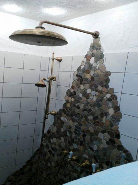 holger. kieselsteine im bad ihr traumhaus ideen esszimmer. idee, Wohnzimmer design